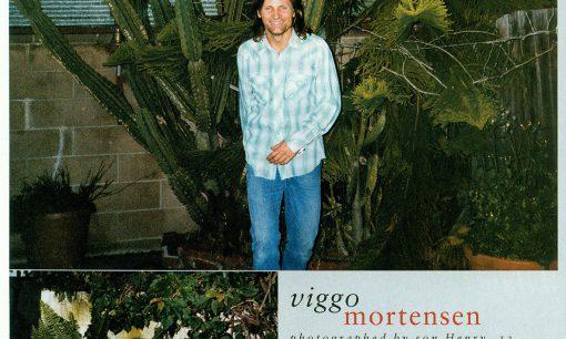Viggo Mortensen, InStyle June 2001
