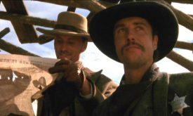 Viggo Mortensen & William Petersen in Young Guns II