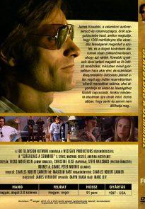 Vanishing Point DVD cover back - Hungary