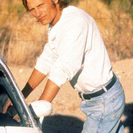 Viggo Mortensen in Vanishing Point behind the scenes