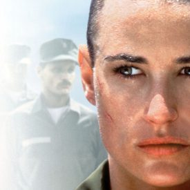 G.I. Jane key art - Demi Moore, Viggo Mortensen