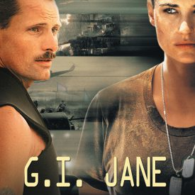G.I. Jane DVD cover - Demi Moore, Viggo Mortensen