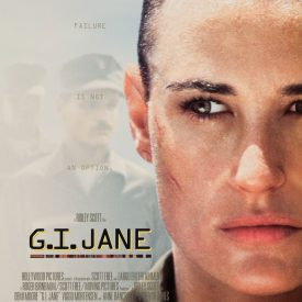 G.I. Jane movie poster - Demi Moore, Viggo Mortensen