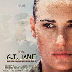 G.I. Jane movie poster - Demi Moore, Viggo Mortensen