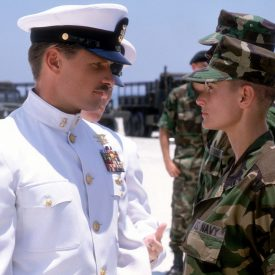 Viggo Mortensen & Demi Moore in G.I. Jane