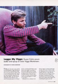 Viggo Mortensen in Jane, Jan-Feb 1999, p2