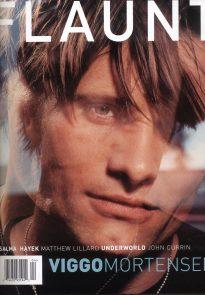 Viggo Mortensen in Flaunt, April 1999 - cover 1