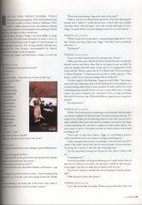 Viggo Mortensen in Flaunt, April 1999 - p 4
