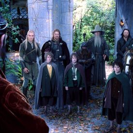 the Fellowship prepares to leave Rivendell