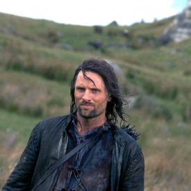 Aragorn (Viggo Mortensen) in The Fellowship of the Ring (Lord of the Rings)
