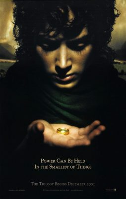 The Fellowship of the Ring poster - Frodo with The One Ring