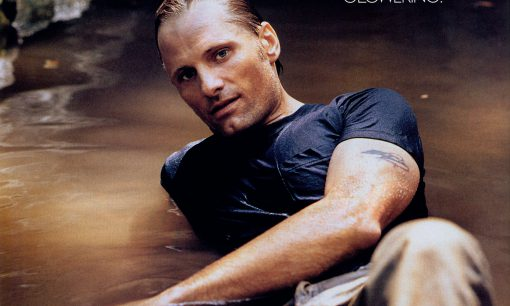 Viggo Mortensen in Elle, Dec. 2001