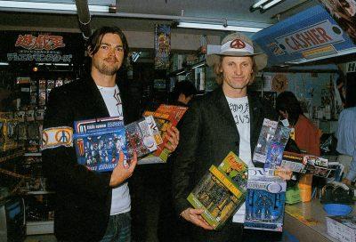 Viggo Mortensen & Karl Urban in Japan May 2003