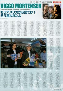 Viggo Mortensen & Karl Urban in MovieStar #99 May 2003 p1