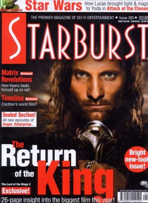 Starburst Dec 2003 magazine cover