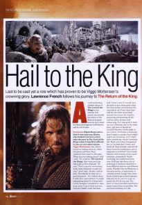Hail to the King - Starburst Dec 2003 p1