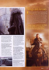 Hail to the King - Starburst Dec 2003 p10