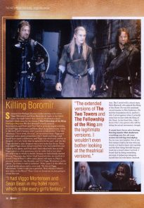 Hail to the King - Starburst Dec 2003 p11