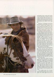 Hidalgo in American Cowboy March 2004 p3