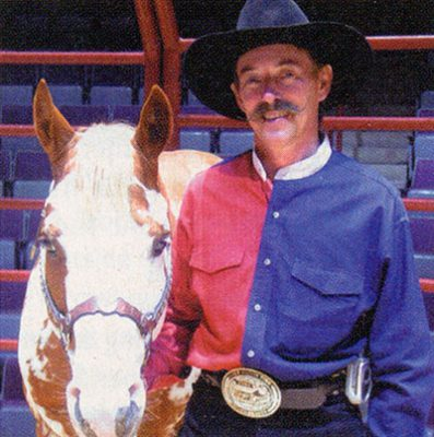 Rex Peterson, horse trainer for Hidalgo