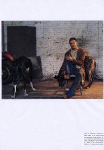 Viggo Mortensen in L'uomo Vogue April 2004 p5