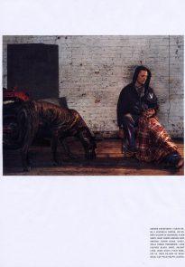 Viggo Mortensen in L'uomo Vogue April 2004 p9