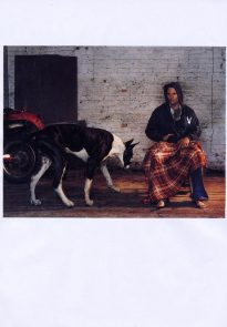 Viggo Mortensen in L'uomo Vogue April 2004 p10