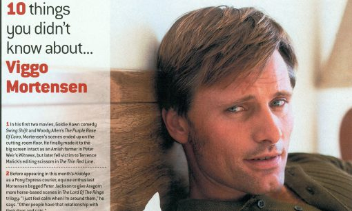 Viggo Mortensen - Total Film May 2004