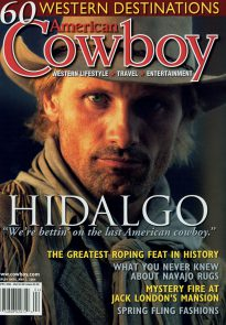 Viggo Mortensen magazine cover - American Cowboy March 2004