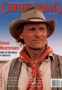 Viggo Mortensen magazine cover - Cowboys & Indians April 2004