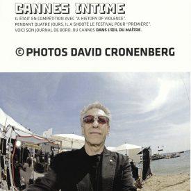 Cronenberg Cannes 2005 fisheye