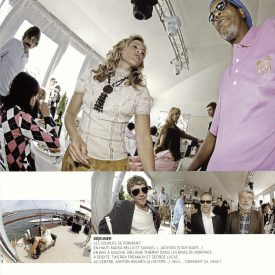 Maria Bello, Samuel L Jackson... @ Cannes 2005 fisheye by Cronenberg