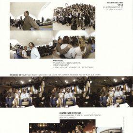 Viggo Mortensen et al @ Cannes 2005 fisheye by Cronenberg