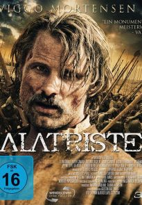 Viggo Mortensen as Alatriste Blu-ray cover (Germany)