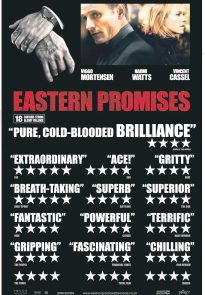 Eastern Promises movie poster - UK