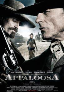 Appaloosa poster - Mortensen, Harris, Zellweger