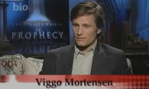 Viggo Mortensen in Biography Channel feature