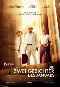 The Two Faces of January - movie poster (Germany)
