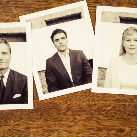 Viggo Mortensen, Kirsten Dunst, & Oscar Isaac in The Two Faces of January