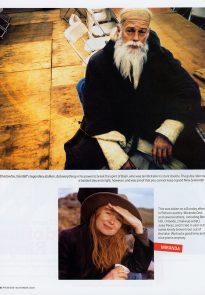 Premiere magazine Nov 2004 p3/7 - Viggo Mortensen photography