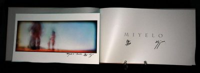 Miyelo book, autographed