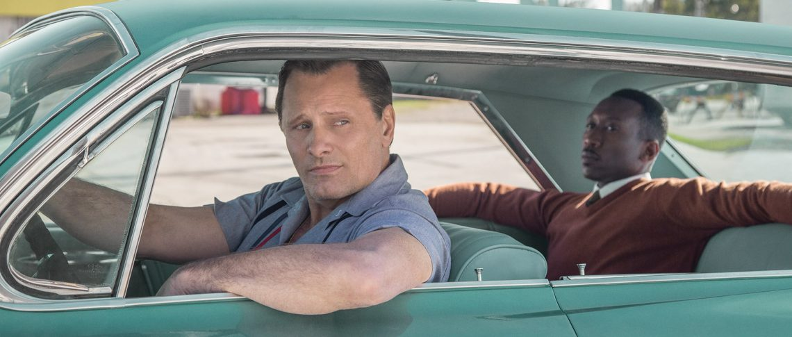 Viggo Mortensen & Mahershala Ali in Green Book