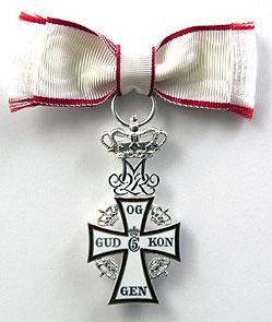 Ridder af Dannebrog Danish medal