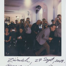 Polaroid by Viggo Mortensen - Zurich Sept 2018