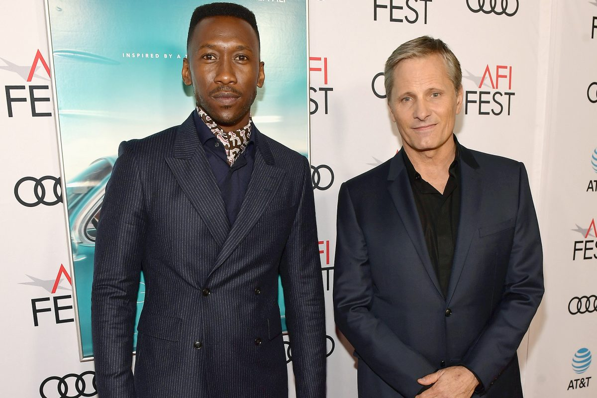 Mahershala Ali and Viggo Mortensen at AFI FEST 2018
