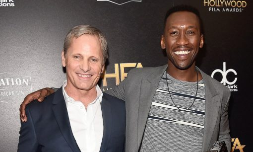 Viggo Mortensen and Mahershala Ali at Hollywood Film Awards