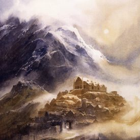 Edoras 2 by Alan Lee
