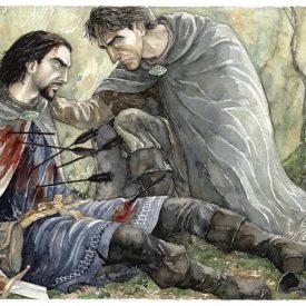 Boromir's death (2000) by Anke Eissmann
