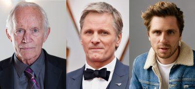 Lance Henriksen, Viggo Mortensen, & Sverrir Gudnason, projected leads of Falling