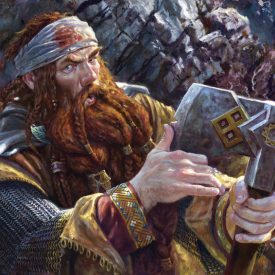 Forty-Two (Gimli) by Matthew Stewart